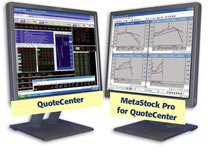 MetaStock with QuoteCenter