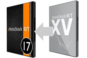 Upgrade to MetaStock RT17 from RT15 or prior