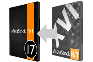 Upgrade to MetaStock RT17 from RT16